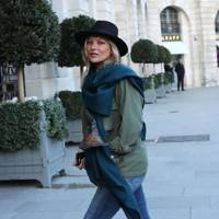 Arriving at The Ritz Hotel, Paris – January 17 2018