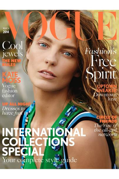 Vogue cover, March 2014