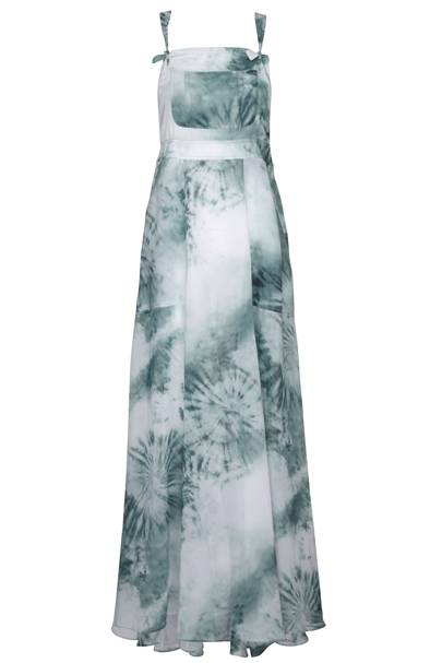 Tie-dye chiffon overall dress, £80
