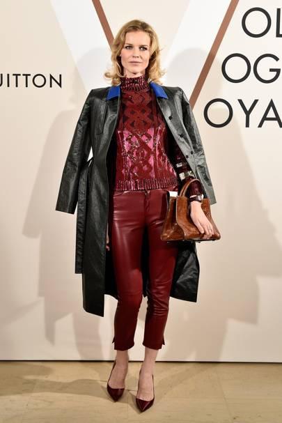 'Volez, Voguez, Voyagez : Louis Vuitton exhibition opening, Paris - December 4 2015