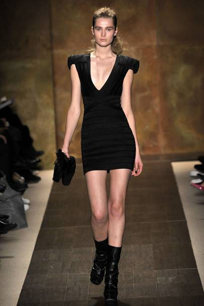 Herve Leger By Max Azria Autumnwinter 2009 Ready To Wear Show