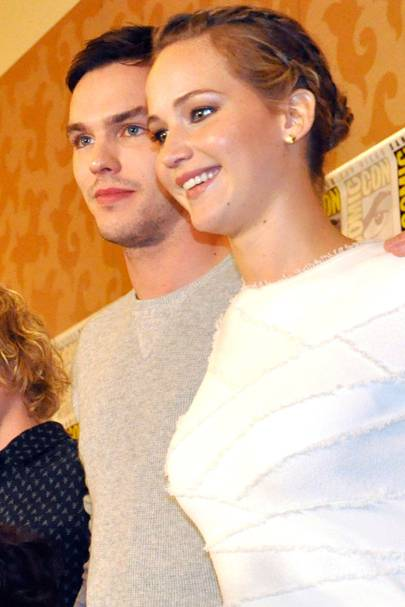 Jennifer Lawrence and Nicholas Hoult