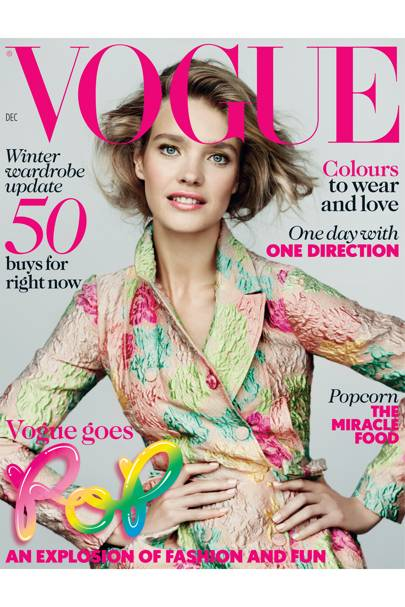 Vogue cover, December 2012