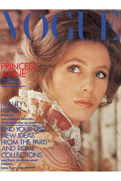 Vogue cover, September 1971