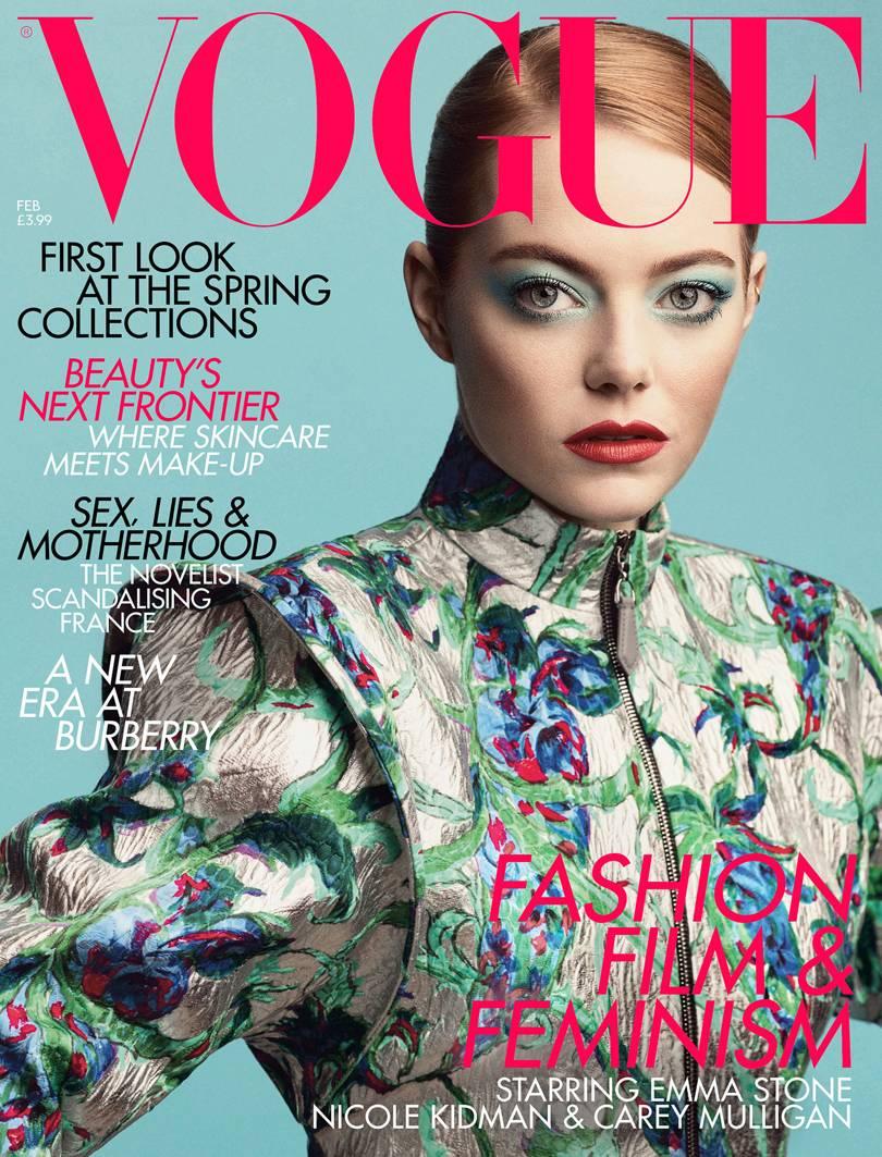 Emma Stone Cover Majalah