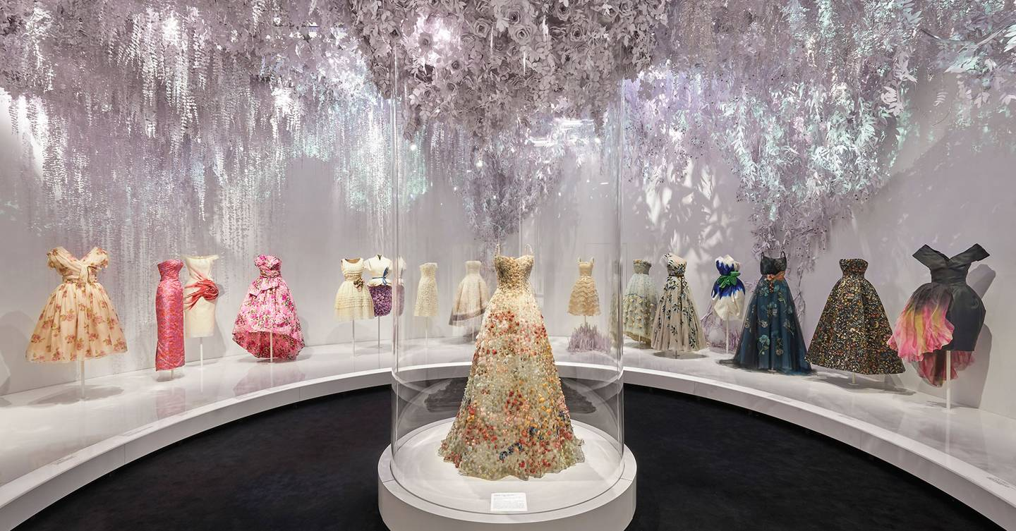 Every Hidden Symbol To Look Out For In The V&A's Dior Exhibition