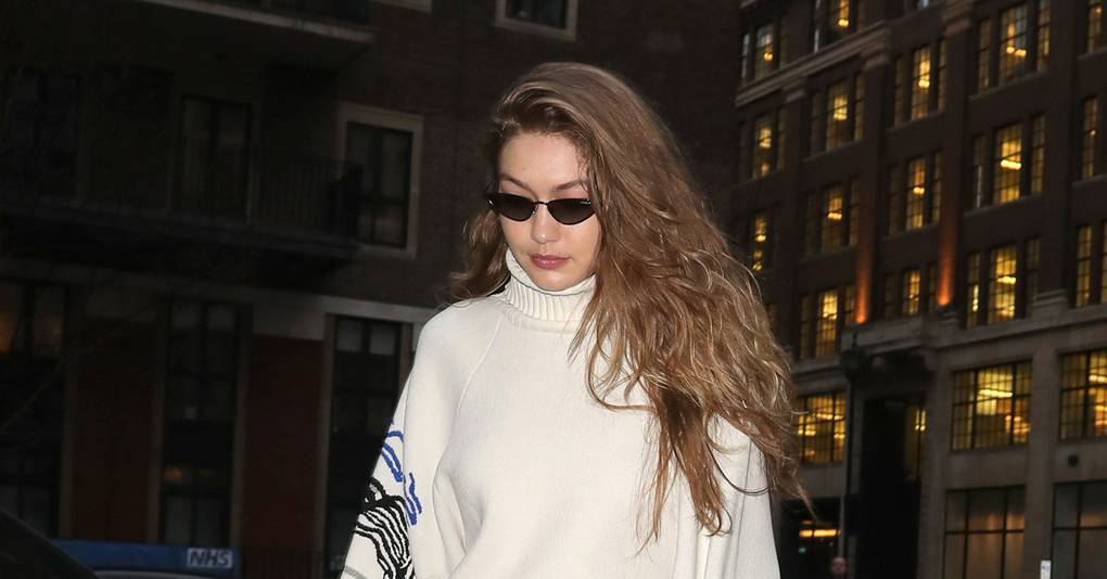 Gigi Hadid Has Found The Perfect Shoe For This Time Of Year