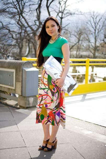 Naoko Moruyama, student