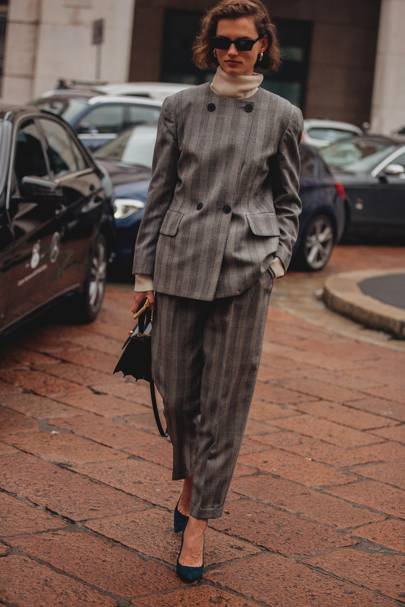 Take a buttoned up approach