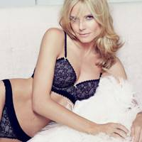 Heidi Klum Model On Red Carpet Style Family Intimates Underwear British Vogue