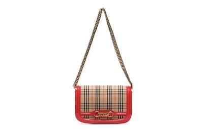 Burberry link-detail shoulder bag