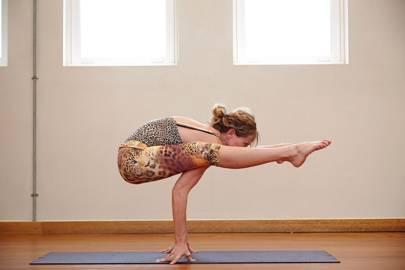 Try flying yoga
