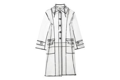 Miu Miu's plastic coat