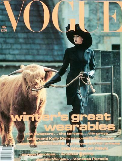 Vogue Cover, November 1991