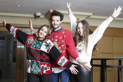 Megan Boyes, James Cunningham and Lucinda Turner
