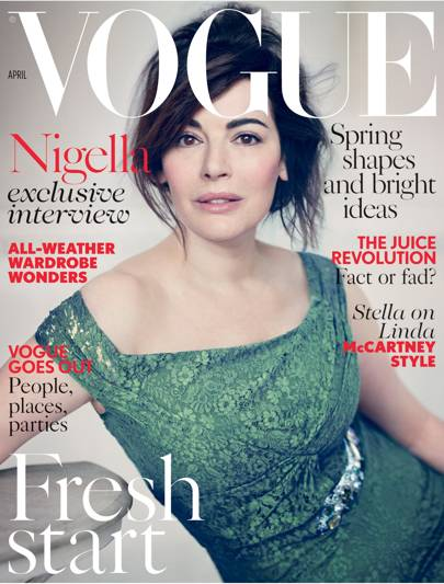 Vogue cover, April 2014