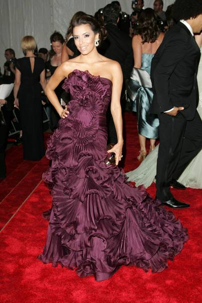 Eva Longoria at the 2008 Met Gala