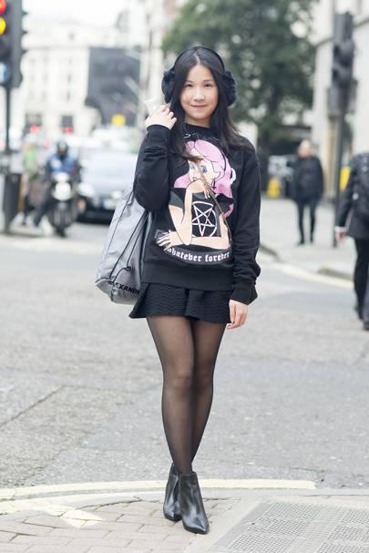 Janice Ho, student