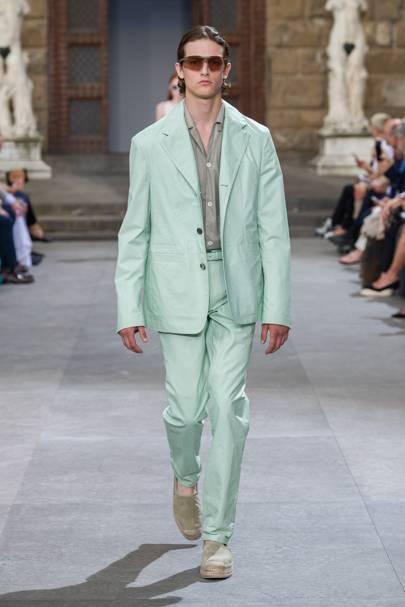 29a84d562eb Salvatore Ferragamo Spring/Summer 2020 Menswear show report ...
