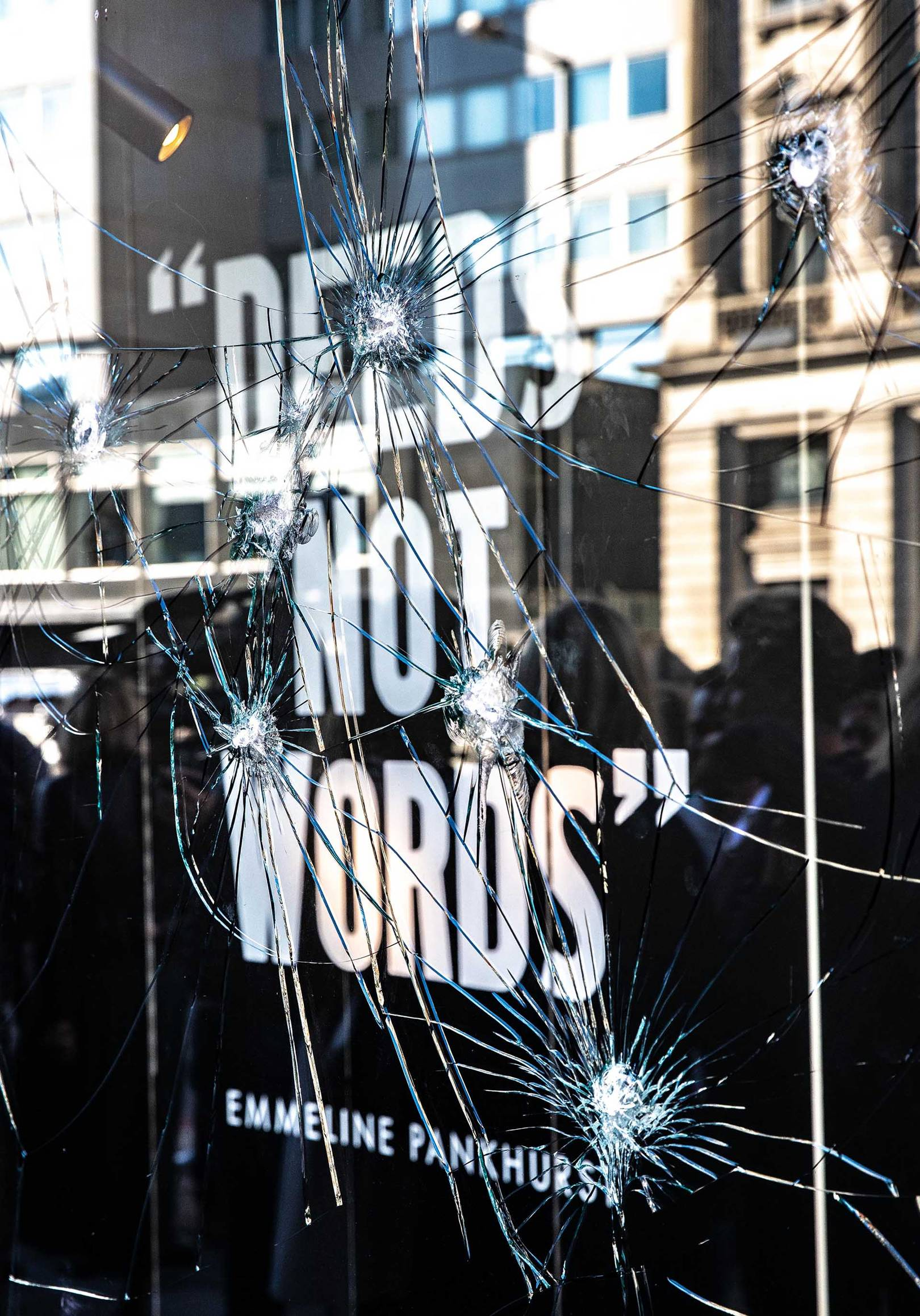 12d2529ba33 London Department Stores Smash Their Windows In The Name Of Women s  Suffrage