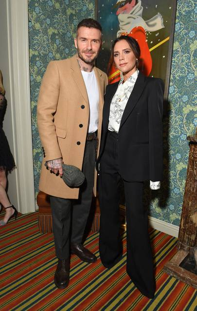 How Victoria Beckham Spiced Up The LFW Party Scene