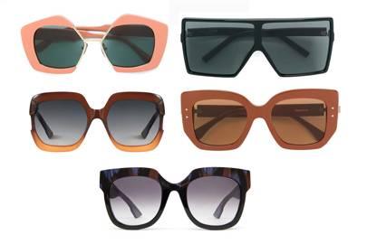 4b1e6bf0271b Marni edge sunglasses, £425 at Farfetch.com, Saint Laurent oversized  sunglasses, £353 at Farfetch.com, Dior Diorgaia sunglasses, £239 at  Dior.com, Fendi ...