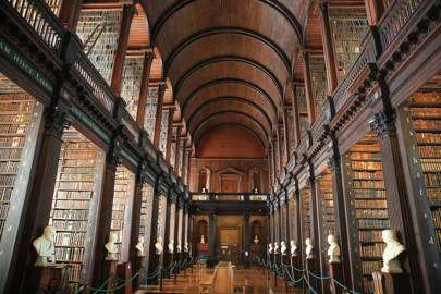 VISIT: The Long Room at Trinity College Library.