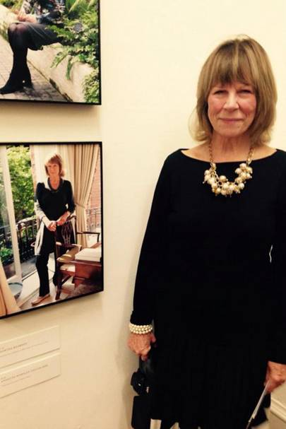 Annette Worsley-Taylor MBE, originator of London Fashion Week with her @100ladyleaders portrait at Somerset House in October 2014