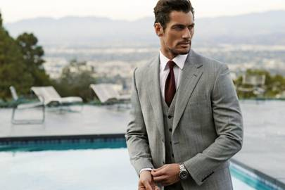 David Gandy in M&S's Collection Menswear campaign