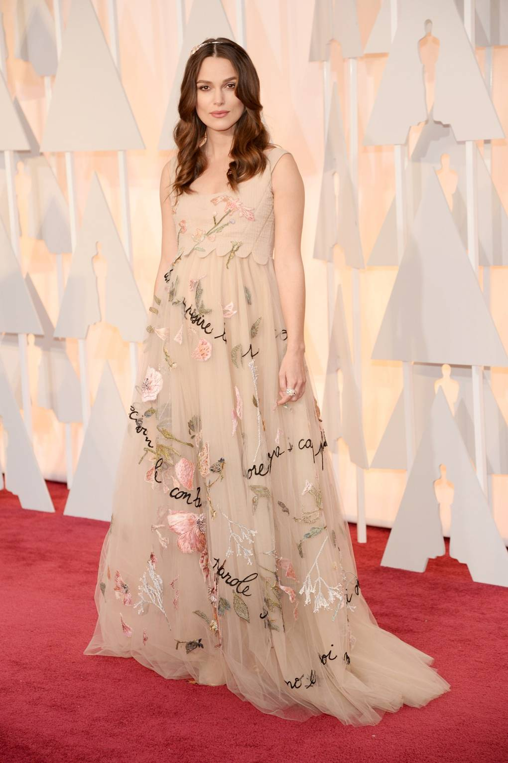 Keira knightley style file vogue dress