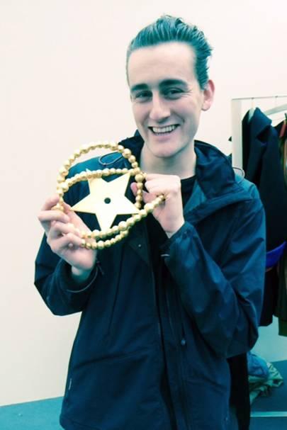 Designer Thomas Tait – winner of the LVMH prize of €100,000