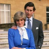 The blue Cojana suit (Buckingham Palace, February 1981)
