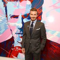 David Beckham: The Man charity auction, London - March 10 2016