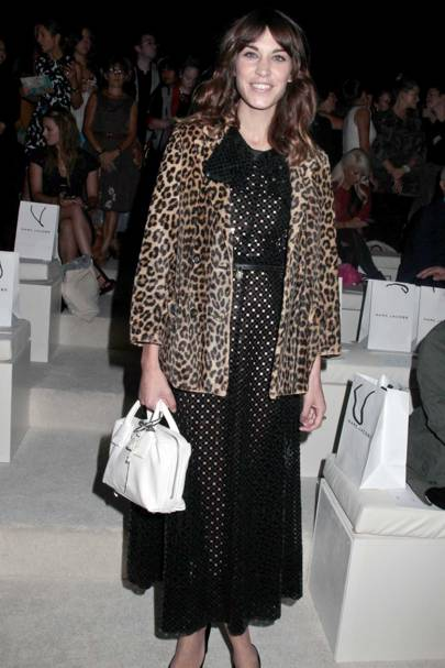 A touch of leopard print