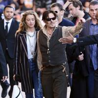 Johnny Depp - 5ft 9in