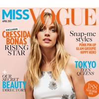 Miss Vogue cover, April 2015
