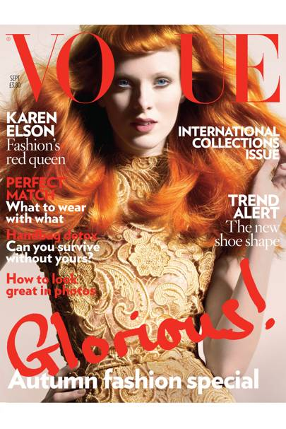 Vogue cover, September 2008