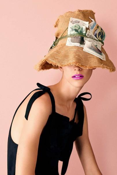 ec206429e6f8d Stephen Jones gives Suzy Menkes hats for the Twelve Days of ...