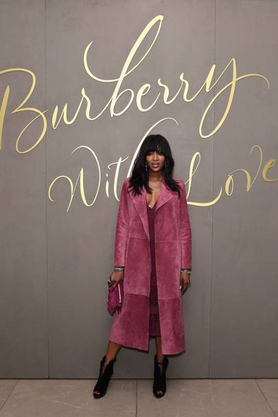 Burberry Festive Film launch, London - November 3 2015