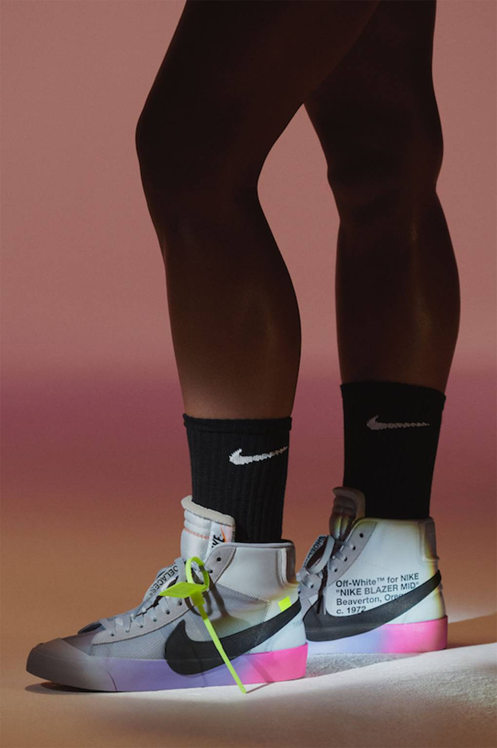 6cbdef1d7802 Serena Williams And Off White s Virgil Abloh Collaborate On A Trainer