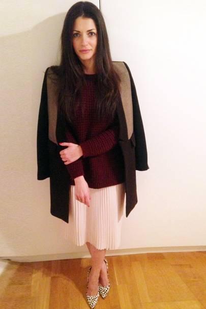 Natalia Barbieri, shoe designer of Bionda Castana