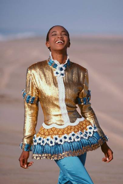 Naomi Campbell - Vogue December 1987
