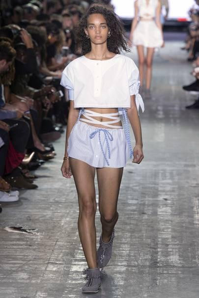 the best attitude a5a91 3eb11 Alexander Wang SpringSummer 2017 Ready-To-Wear show report  British Vogue