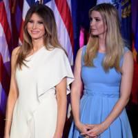 Ivanka and Melania Trump