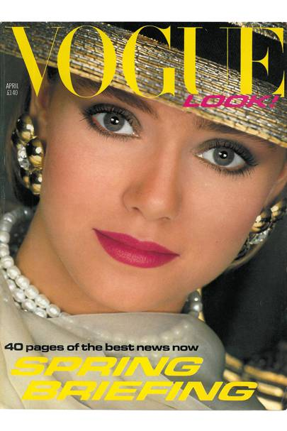 Vogue Cover April 1983