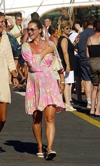 Kate Moss's St Tropez Wardrobe Hasn't Changed Since The Early Noughties