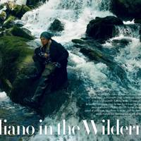 The John Galliano interview inside July's Vanity Fair