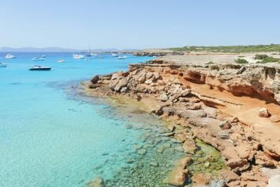 Caló des Mort, Formentera