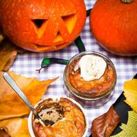 Pumpkin Pie Puddings