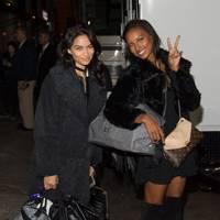 Shanina Shaik and Jasmine Tookes